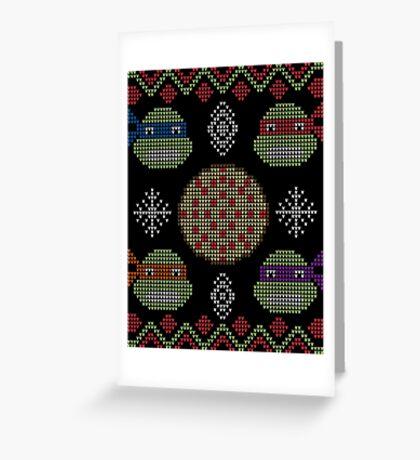 Christmas Pizza Greeting Card