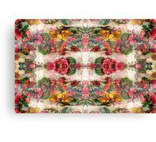 Floral Remix 4 Canvas Print
