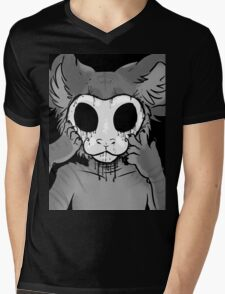 Behind The Mask Mens V-Neck T-Shirt