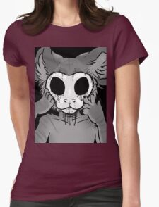 Behind The Mask Womens Fitted T-Shirt