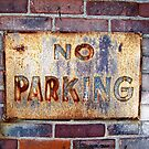 No Parking by BlackHairMoe