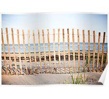 Looking towards Jones Beach Poster