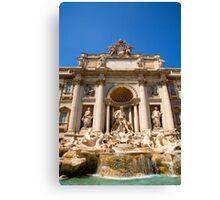 Fontana di Trevi, Rome, Italy. Canvas Print