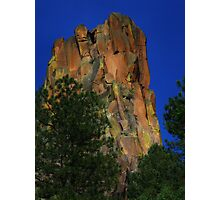 Battleship Rock, NM Photographic Print