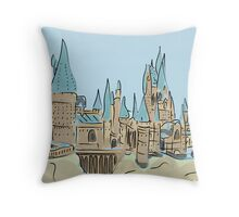 Sandcastle Throw Pillow