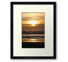 Cannon Beach Sunset Framed Print