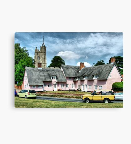 Cavendish Suffolk  Canvas Print