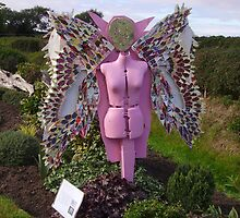 Recycled angel by Livvy Young