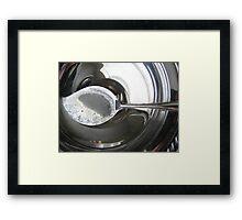 Silver Spoon Framed Print