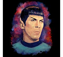 Colorfull Captain Spock Photographic Print