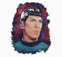 Colorfull Captain Spock Kids Clothes