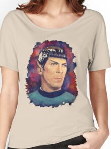 Colorfull Captain Spock Women's Relaxed Fit T-Shirt