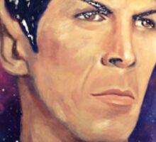 Colorfull Captain Spock Sticker
