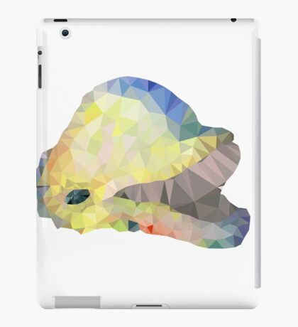 graphic dolphin iPad Case/Skin