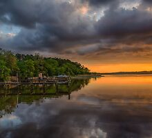 Last Light in Chestertown by Adam Northam