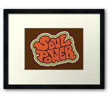 Soul Power Framed Print