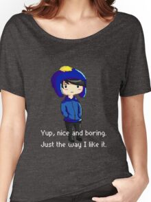 Yup, nice and boring. Just the way I like it. Women's Relaxed Fit T-Shirt