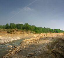 Morning View - River Secchia,Sassuolo,Italy - HDR by Davide Ferrari