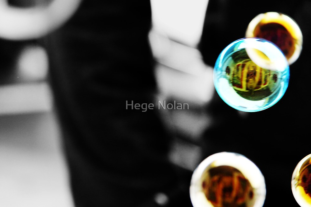 Bubbly reflection by Hege Nolan