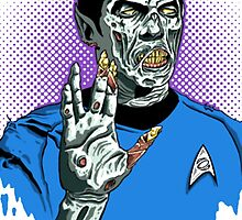 Captain Spock - Zombie by B2BFadeout