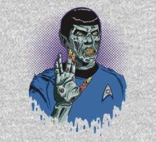 Captain Spock - Zombie Kids Clothes