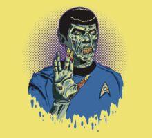Captain Spock - Zombie Baby Tee
