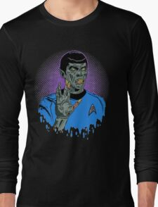Captain Spock - Zombie Long Sleeve T-Shirt