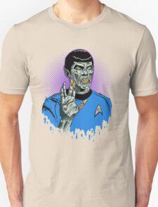 Captain Spock - Zombie Unisex T-Shirt