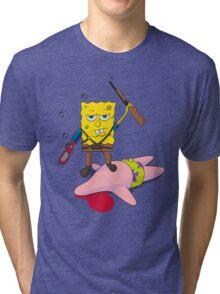 Ash_Bob Starfish Hunter Tri-blend T-Shirt