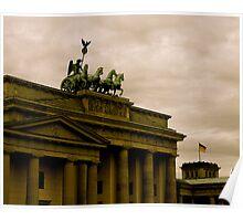 Brandenburg Gate, Berlin Germany Poster