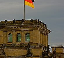 The Reichstag, Berlin, Germany by Stacie Forest