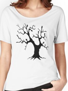 Guitar Tree (Black) Women's Relaxed Fit T-Shirt