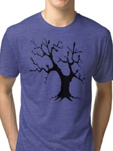 Guitar Tree (Black) Tri-blend T-Shirt