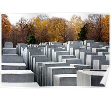 Berlin Holocaust Memorial Poster