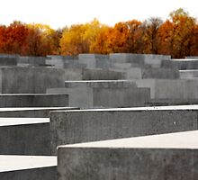Jewish Sadness, Berlin Holocaust Memorial by Stacie Forest