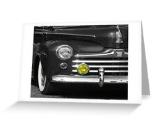Classic with Yellow Light Greeting Card