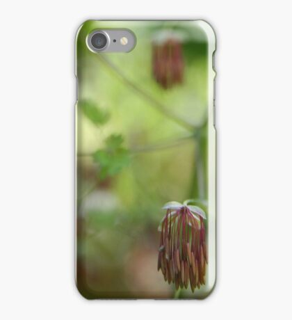 Droopy flower - 2011 iPhone Case/Skin