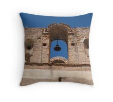 Tumacacori Belltower from the East Throw Pillow