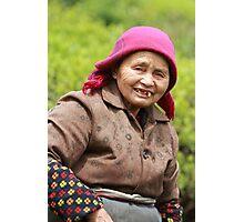 Village Portrait Photographic Print