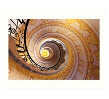 Staircase at Melk Art Print