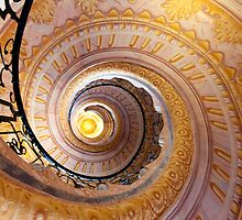 Staircase at Melk by Peter Doré