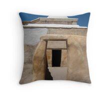 Tumacacori Mission Sacristy Door Throw Pillow