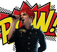 Gerard Way - POW! by kwistabear