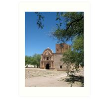 Tumacacori Mission from the South Art Print