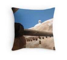 Tumacacori Mission from the Granary Throw Pillow