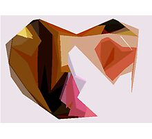 Love Heart Abstract Photographic Print