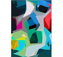 Collage Abstract Photographic Print