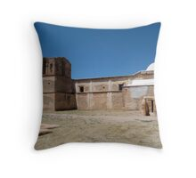 Tumacacori Mission from the East Throw Pillow