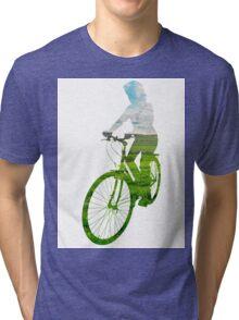 Green Transport 3 Tri-blend T-Shirt