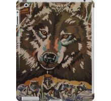 Wolf Family Painting iPad Case/Skin